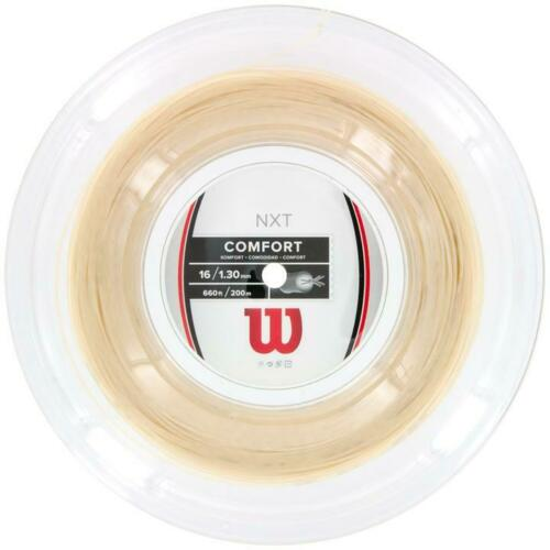 1.30mm String Reel 200m 660ft Wilson NXT Comfort 16