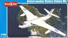 Micro Mir AMP - British bomber Vickers Valiant Mk.I RAAF 1961/1961 RAF  - 1:144