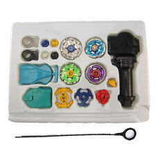 New Fusion Top Metal Master Rapidity Fight Rare Beyblade 4D Launcher Grip Set