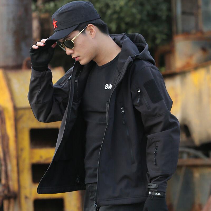 Kültéri taktikai ruházat Vízálló Sharkskin TAD Gear Softshell Jacket nadrág