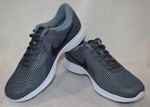 bbe3f592e6dcd Nike Revolution 4 Dark Grey Black Men s Running Shoes-Sz 11 12 13 ...