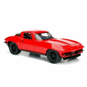 Jada Toys Fast and Furious 8 '66 Chevy Corvette 1:24th Scale Hollywood Ride