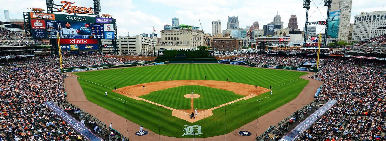 Oakland Athletics at Detroit Tigers