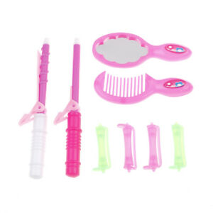 8PCS-Doll-Hair-Care-Beauty-Salon-Kit-Doll-Comb-Mirror-Hair-Curler-Doll-Toys-E-amp-F