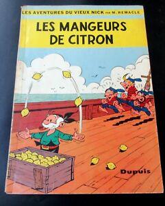 VIEUX-NICK-ET-BARBE-NOIRE-LES-MANGEURS-DE-CITRON-EO-61-BROCHE-DUPUIS-BON-ETAT