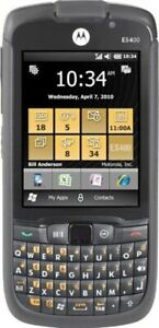 Motorola ES400 ES405B Unlocked PDA Barcode Scanner 3G Rugged QWERTY Smartphone