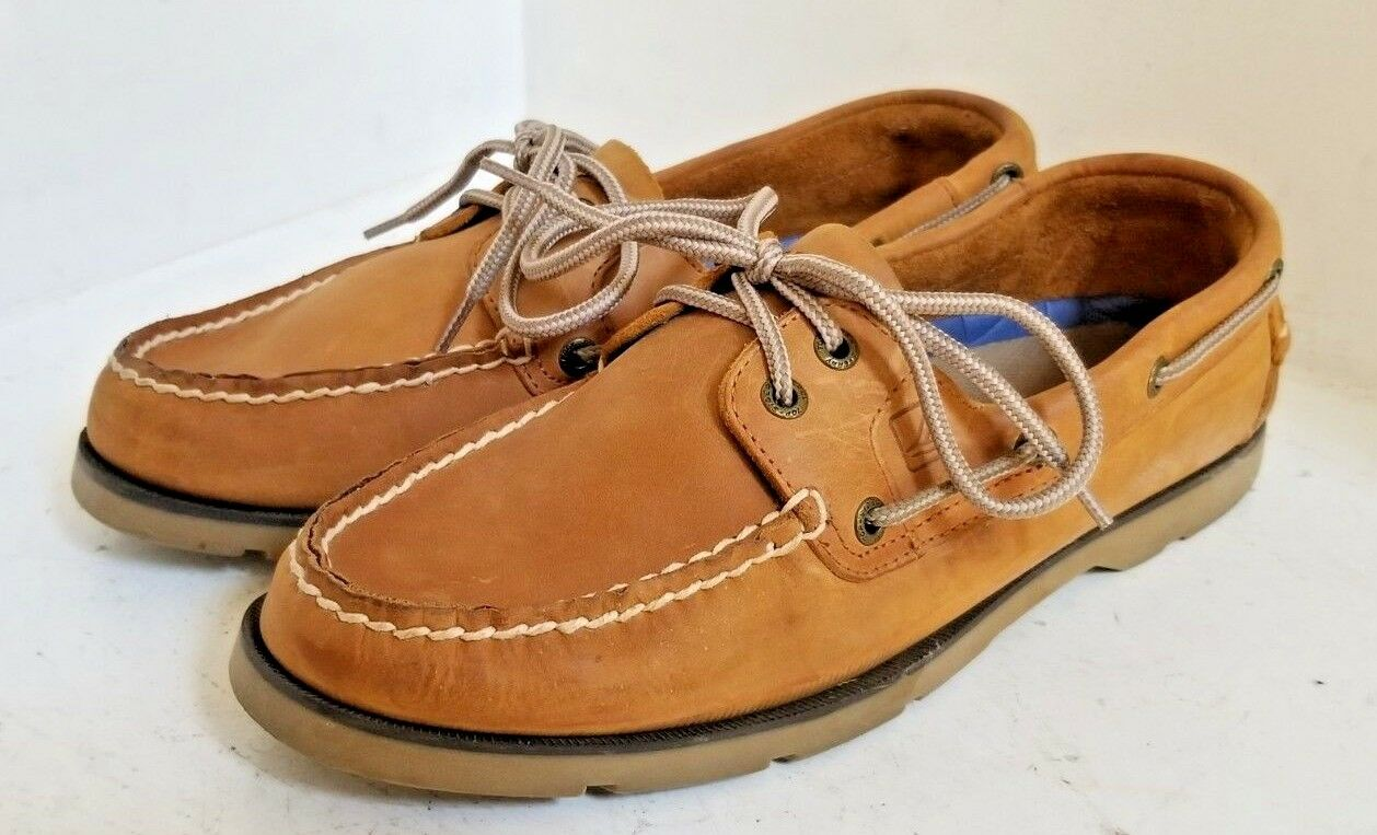 SPERRYTop-Sider Tan Loafers Leather Dock Classic 0777894 Loafers Tan Men's SIZE 8.5 M - NICE a74c71