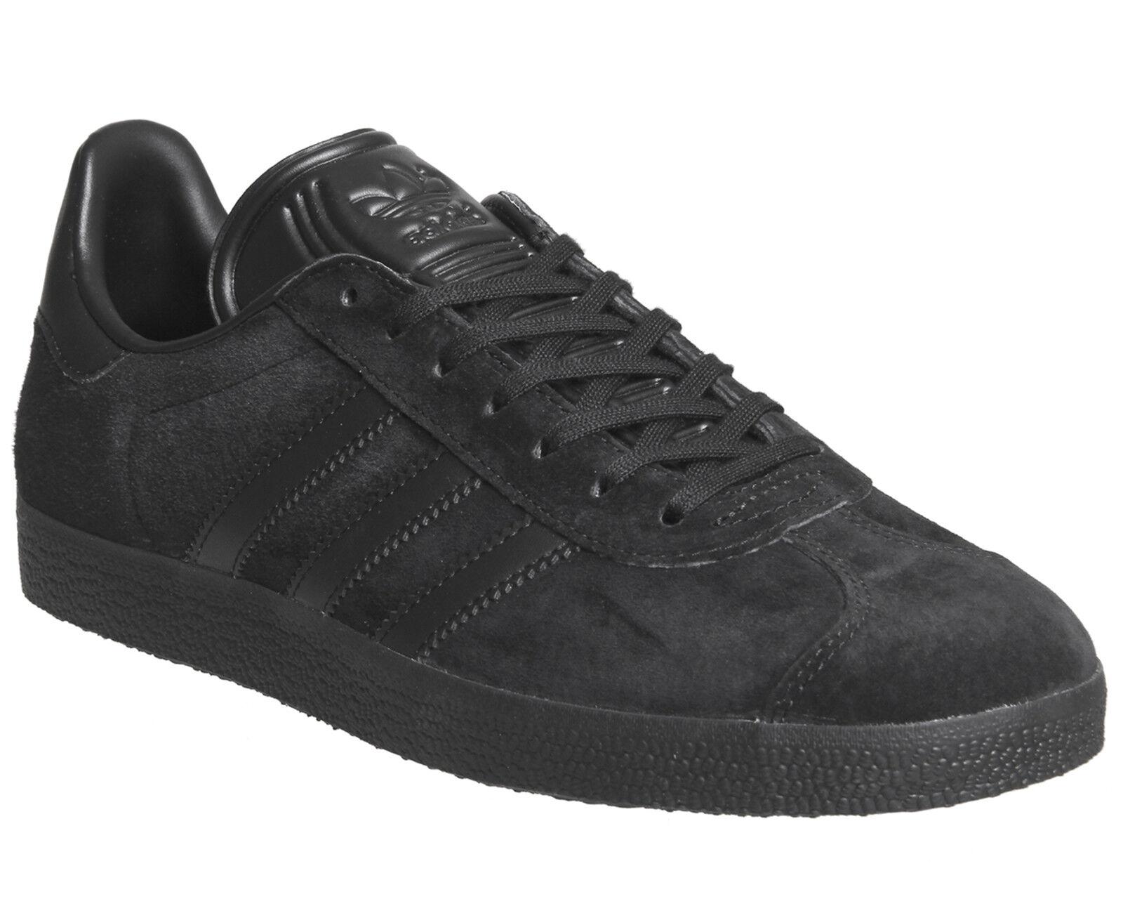 Para Hombre Adidas Gazelle Entrenadores Core Negra Core Zapatillas Negro Zapatillas Core Zapatos 4a5802