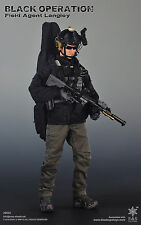 Easy & Simple Black Operation Field Agent Langley Action Figure 1/6 MINT IN BOX