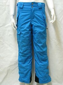 135cc3994 Image is loading COLUMBIA-BIG-BOYS-BUGABOO-BRIGHT-BLUE-PANT-INSULATED-