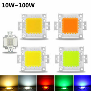 10w 20w 30w 50w 100w High Power Integrated Led Lamp Chips Smd Bulb For Floodlight Spot Light Led Bulbs & Tubes