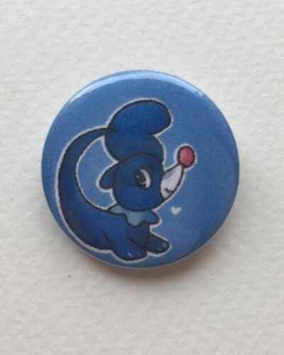 "Pokemon Sun and Moon Popplio 1/"" Badge"