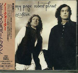 JIMMY-PAGE-amp-ROBERT-PLANT-NO-QUARTER-1994-JAPAN-CD-SEALED-Led-Zeppelin