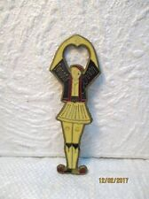 """Décapsuleur décoratif : """" Danseur folklorique grec """""""