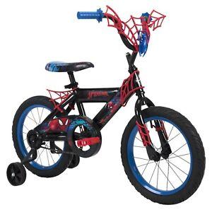 Huffy Marvel Spider-Man Boys Bike, 16 inch Web Plaque NEW