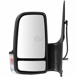 Electric Side Mirror Convex Heated LEFT Fits MERCEDES Sprinter 906 VW 2006