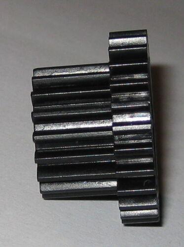 27 Teeth Thermoplastic Metric Dual Spur Gear 28.5 // 19.5 mm OD 6 mm Bore
