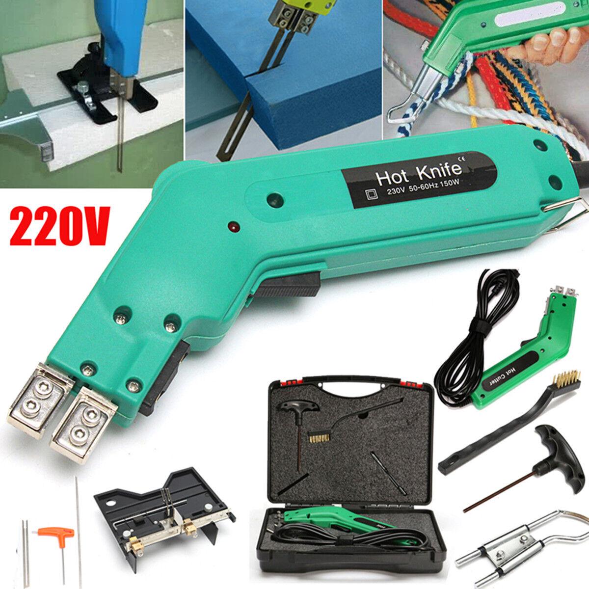 230W Elettrico Taglierina Hot Heating Cutter Poliestere Coltello Caldo Taglierin