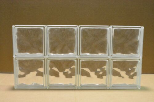 32 x 16 Glass Block Window Wave Pattern