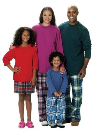 GRATIS UK P /& P-Butterick famiglia facile Sewing Pattern 5572 Pigiami Pigiameria.