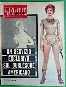 SOPHIA LOREN - MASCOTTE,R@R@ RIVISTA DI SPETTACOLO-N.11 del 1961-RIF.7963