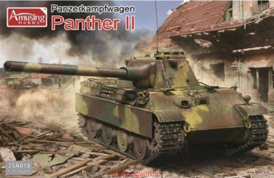 Amusing Hobby 35A018 1 35 German Panzerkampfwagen Panther II