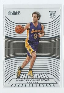 2015-16-Clear-Vision-RC-Rookie-Base-101-Marcelo-Huertas-Lakers