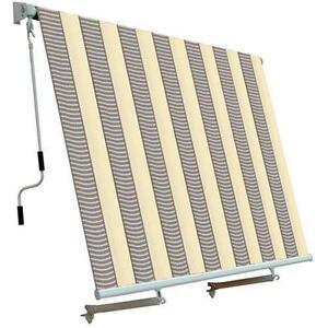 Colori Tende Da Sole.Tenda Da Sole Per Balcone Con Sistema A Caduta Colore Ecru Grigio
