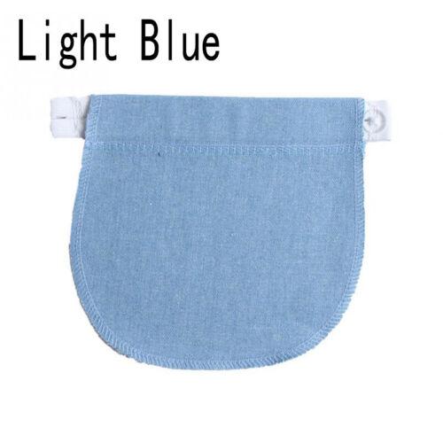 Maternity Pregnancy Adjustable Elastic Waist Extender Waistband For Jeans Pant