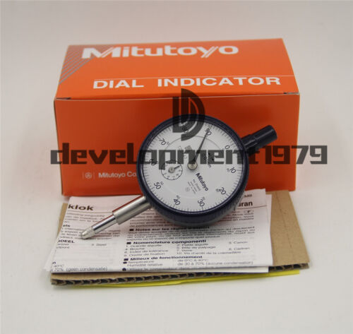1PCS NEW Mitutoyo 2046S Dial Indicator 0-10mm X 0.01mm Grad