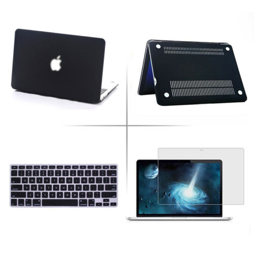 "Macbook Air 13/11 Pro 13/15 Retina 12"" Hard Case+Keyboard Cover+Screen Protector by Unbranded"