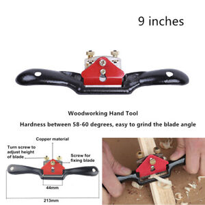 1x-9-034-Woodworking-Blade-Cutting-Trimming-Steel-Engine-Manual-Plane-Deburring-Hand