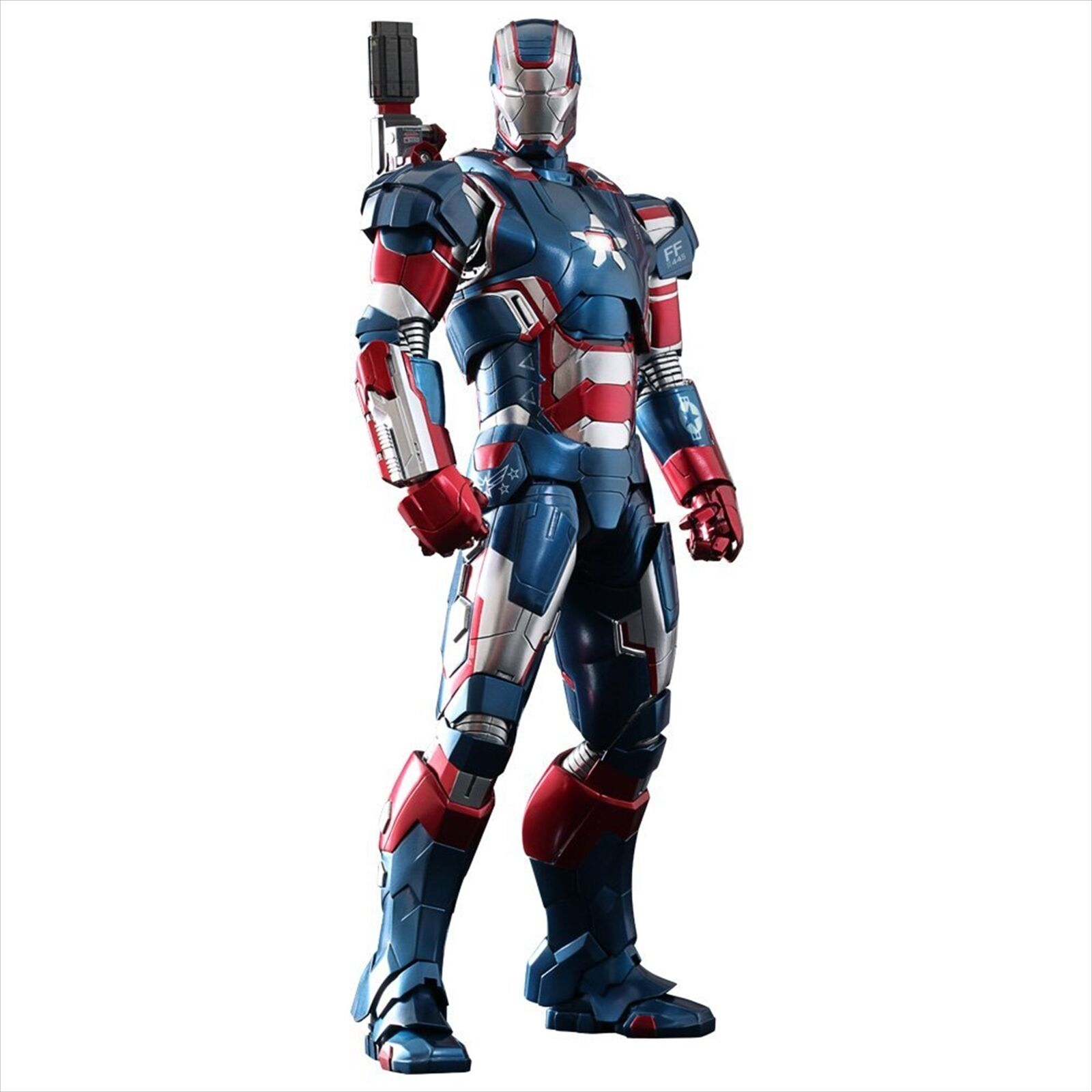 Hot Toys Movie Masterpiece DIECAST Iron Man 3 Iron Iron Iron Patriot 1/6 Action Figure d611db