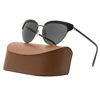 Oliver Peoples Josa Womens Sunglasses 5039/87 Black Antique Gold / Grey Lenses on Sale