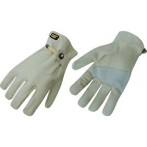 Men's Unlined Leather Driver Gloves CAT M - L ~ New