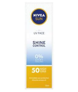 NIVEA-crema-Lucentezza-Controllo-faccia-UV-SPF-50-Protezione-UVA-UVB-Q10-Abbronzante-50-ML