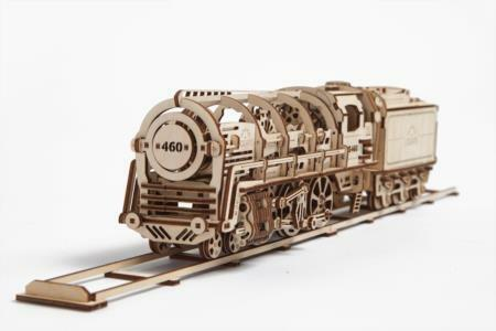 Ugears UTG0011 locomotive mécanique 3D Puzzle Eco toys