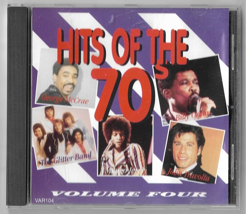 diverse kunstner: Hits of the 70`s, pop