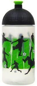 ISYbe Sport-Trinkflasche, Fußball 0,5L, BPA-frei, auslaufsicher, Kohlensäure gee