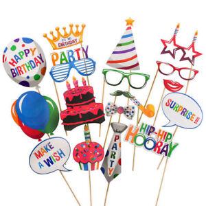 20Pcs-Happy-Geburtstag-Foto-Stand-Requisiten-Fotografie-Party-Deko-Slefie-Set