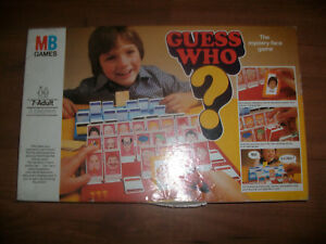 MB Guess Who game  1979 edition Spare parts
