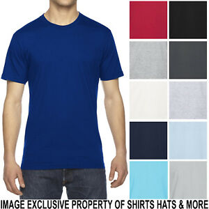 American-Apparel-Fine-Jersey-Blank-T-Shirt-PRESHRUNK-Soft-Cotton-Tee-XS-XL-2X-3X