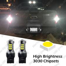 7443 White Led Reverse Backup Light Bulbs For 2018 2019 2020 2021 Ford F150 F250