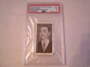 1938-SAM-RUSSELL-46-WA-amp-AC-CHURCHMAN-BOXING-CARD-PSA-GRADED-PSA-5-BN-20