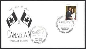 Canada   # 2467   Royal Wedding Special Event Cachet   New 2011 Unaddressed