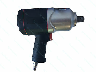 """3/4"""" Drive Composite Twin Hammer Air Impact Wrench 1500ft/lb 2034NM!! Rattle Gun"""