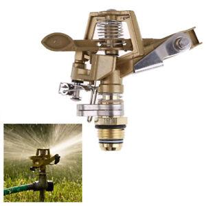 Lawn-Garden-Yard-Grass-Metal-Impulse-Spike-Water-Watering-Sprinkler-Sprayer-15m
