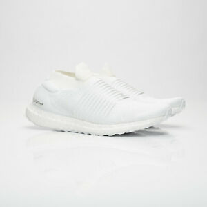 24a87a5e573d3 Men s Adidas Performance Ultra Boost Laceless Trainers White Size UK ...