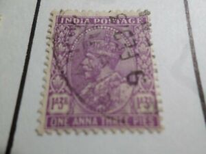 Inde Anglaise, Timbre Classique 113b Oblitéré, Cachet Rond, Vf Used Stamp