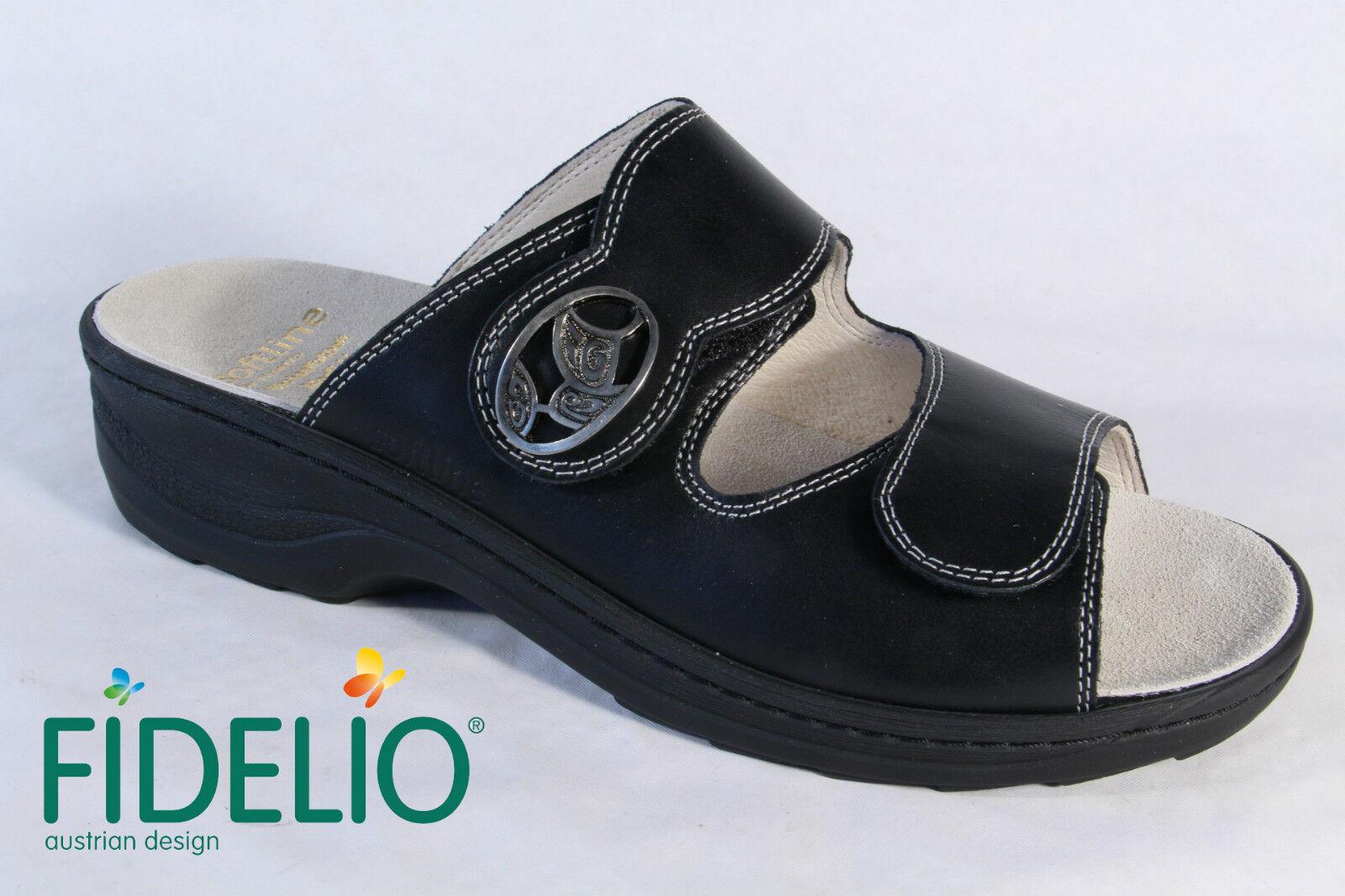 Fidelio Sandaloias Negro De Mujer Sandaloias Cuero Cuero Cuero Negro Sandaloias 3e0319